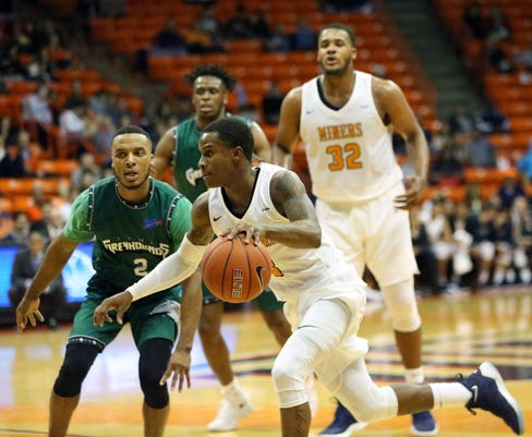 102d347f9 UTEP men s basketball begins Conference USA play with loss to UTSA