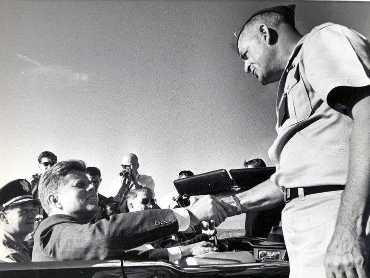 06/06/1963 President John F. Kennedy visits El Paso.