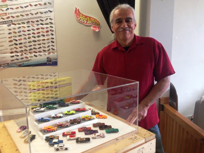 Brian Hernandez, of Santa Paula, has been collecting Hot Wheels for 25 years. A portion of his collection will be on display at the California Oil Museum in Santa Paula through March 10 in celebration of the 50th anniversary of Hot Wheels.