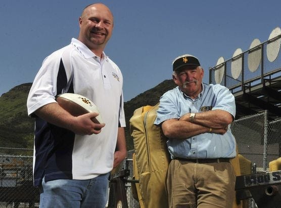 Newbury Park High's George Hurley was more than just a great high school football coach