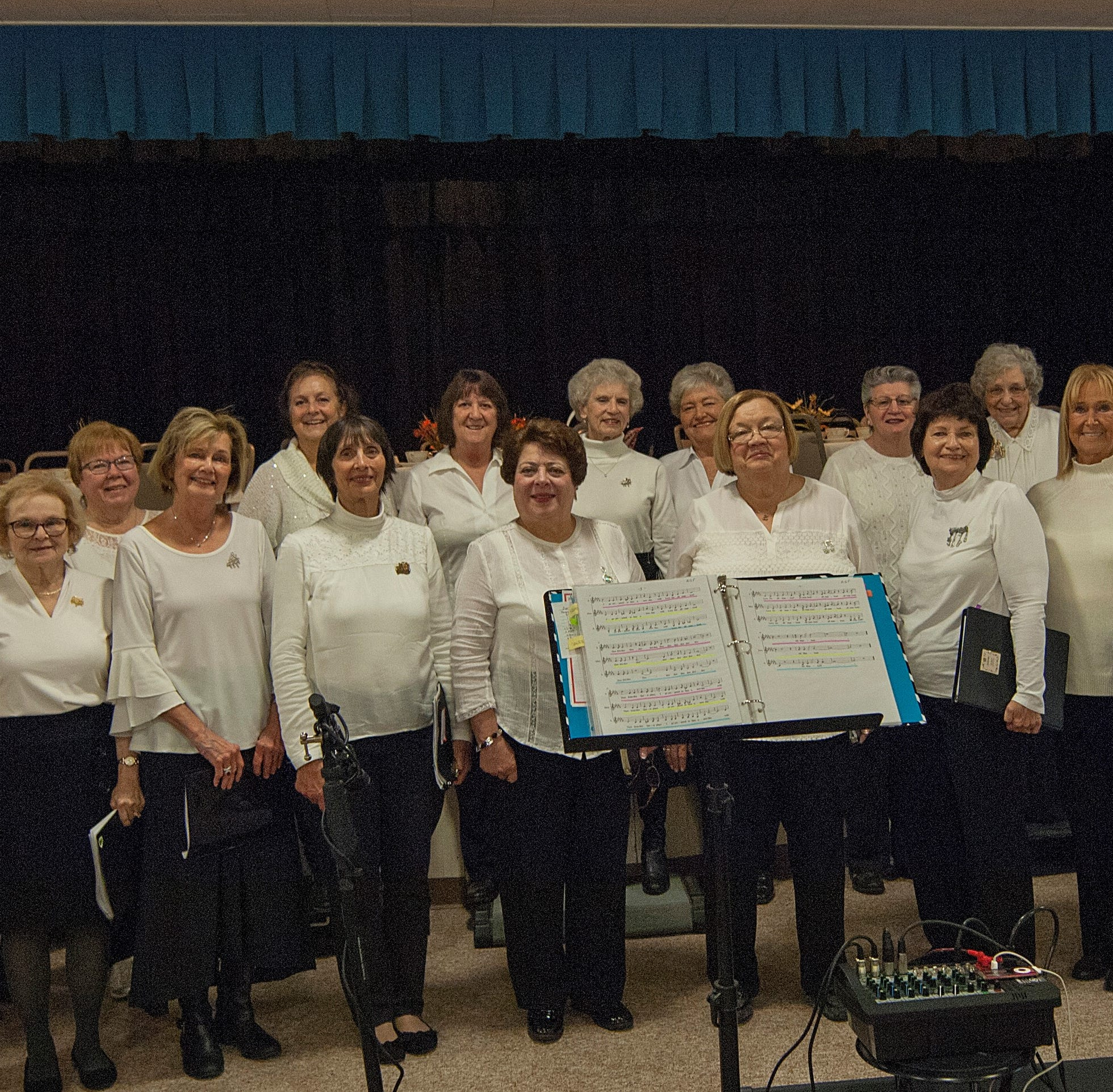 Thanksgiving Tea features club's chorus