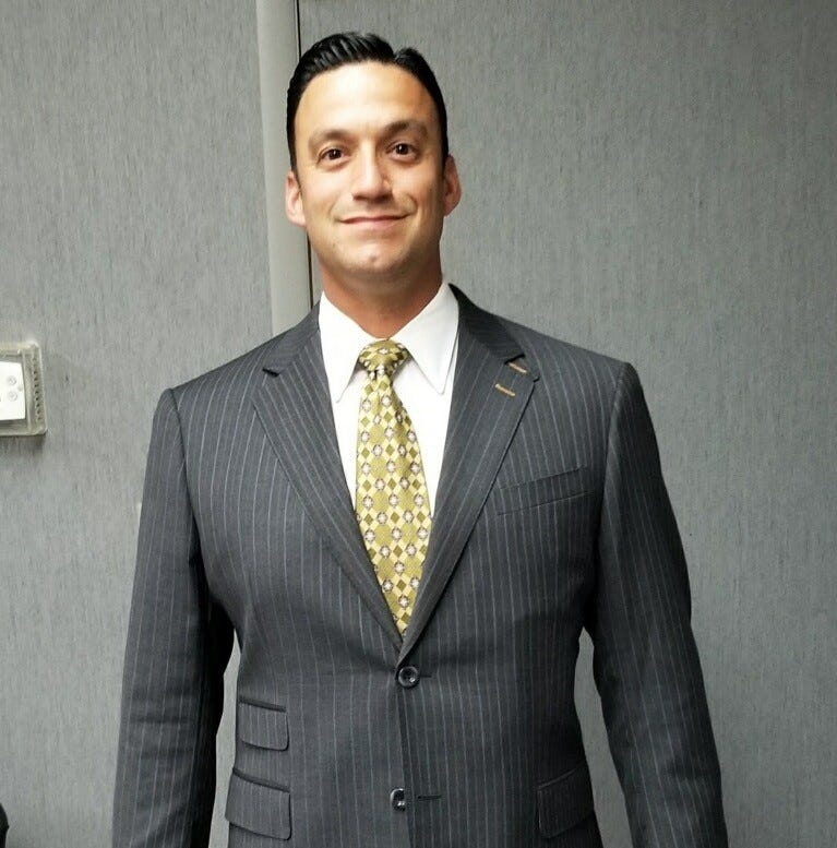 Michael L. Testa Jr., a Vineland resident and attorney, is running for state Senate in the 1st Legislative District. Testa is chairman of the Cumberland County Regular Republican Organization.