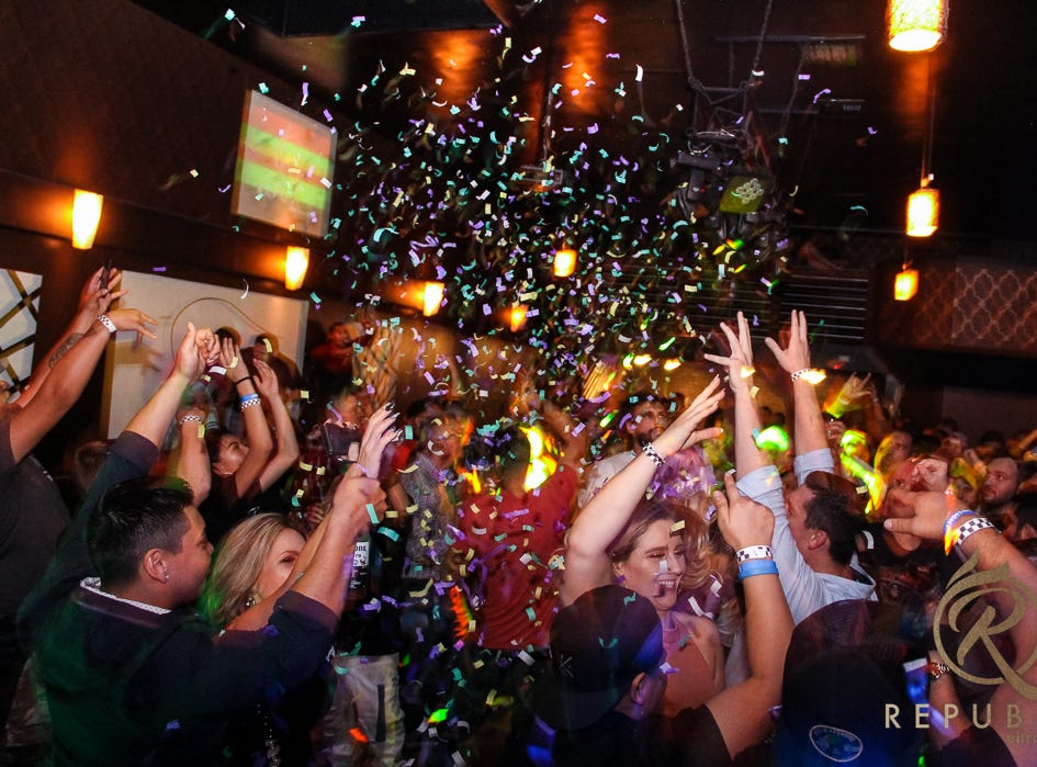 """Republik Ultra Lounge in downtown Visalia will hold its annual """"Pre-Thanksgiving Bash"""" on Black Wednesday."""