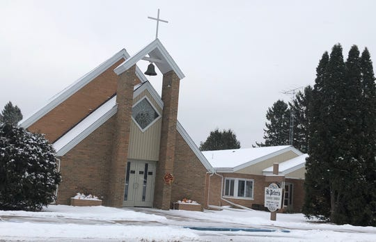 St. Peter's Catholic Church in Winter, Wisconsin on Nov. 19, 2018.