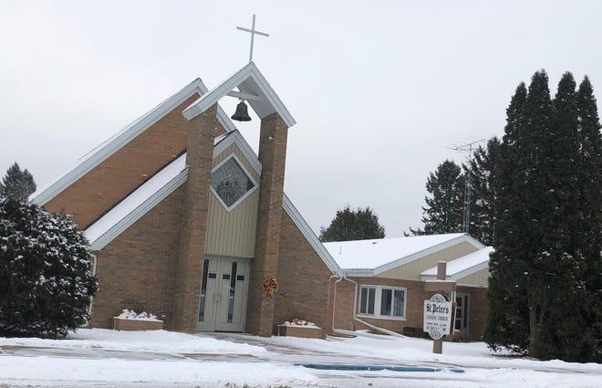 St. Peter's Catholic Church in Winter, Wisconsin on Nov. 19, 2018.