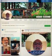 Thomas Ericksen's Facebook page, as of Nov. 20, 2018.