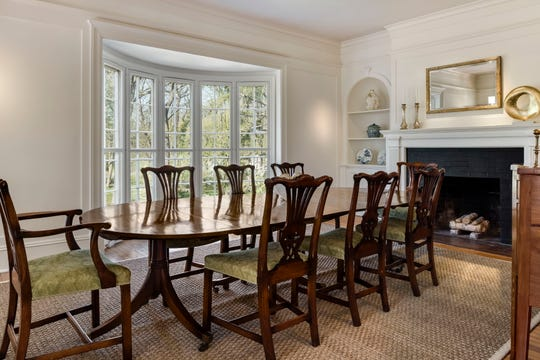 Built in 1880, the Shingle Style Colonial  has had a modern renovation.
