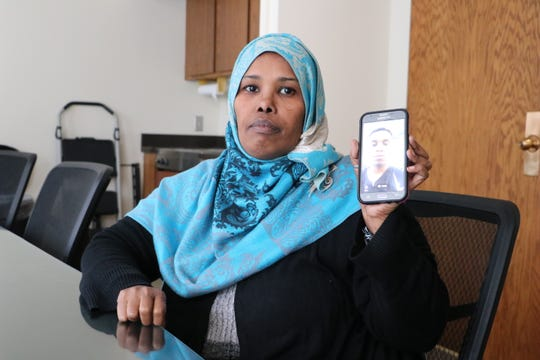 Faduma Abdo Isaq Ibrahim is a refugee from Somalia living in Syracuse, but has been separated from two of her sons because of the U.S. travel ban.