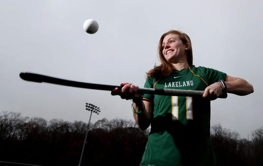 Julianna Cappello of Lakeland High School is the Westchester/Putnam field hockey player of the year.
