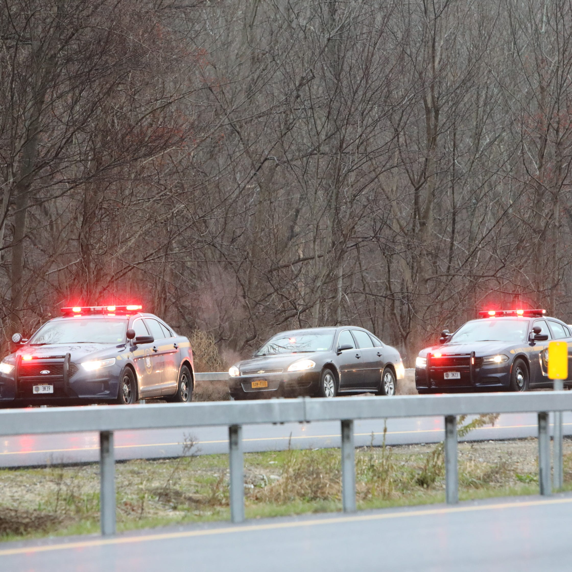 Road rage: One person arrested in I-684 traffic jam