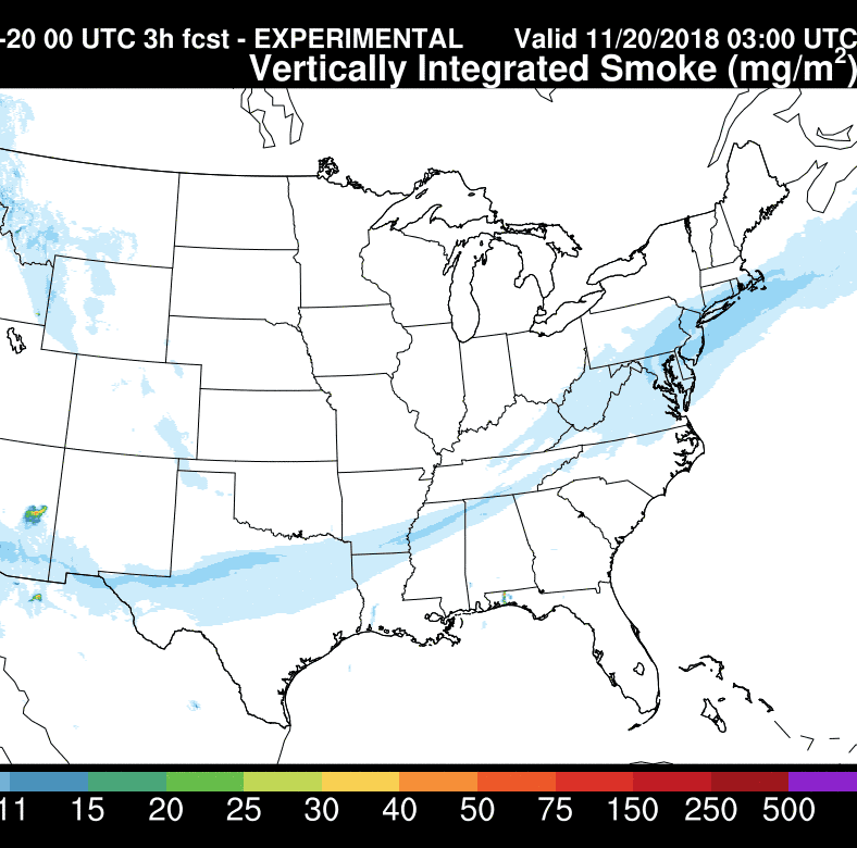 Wondering why it's so hazy outside? Smoke plume from California fires shrouds East Coast