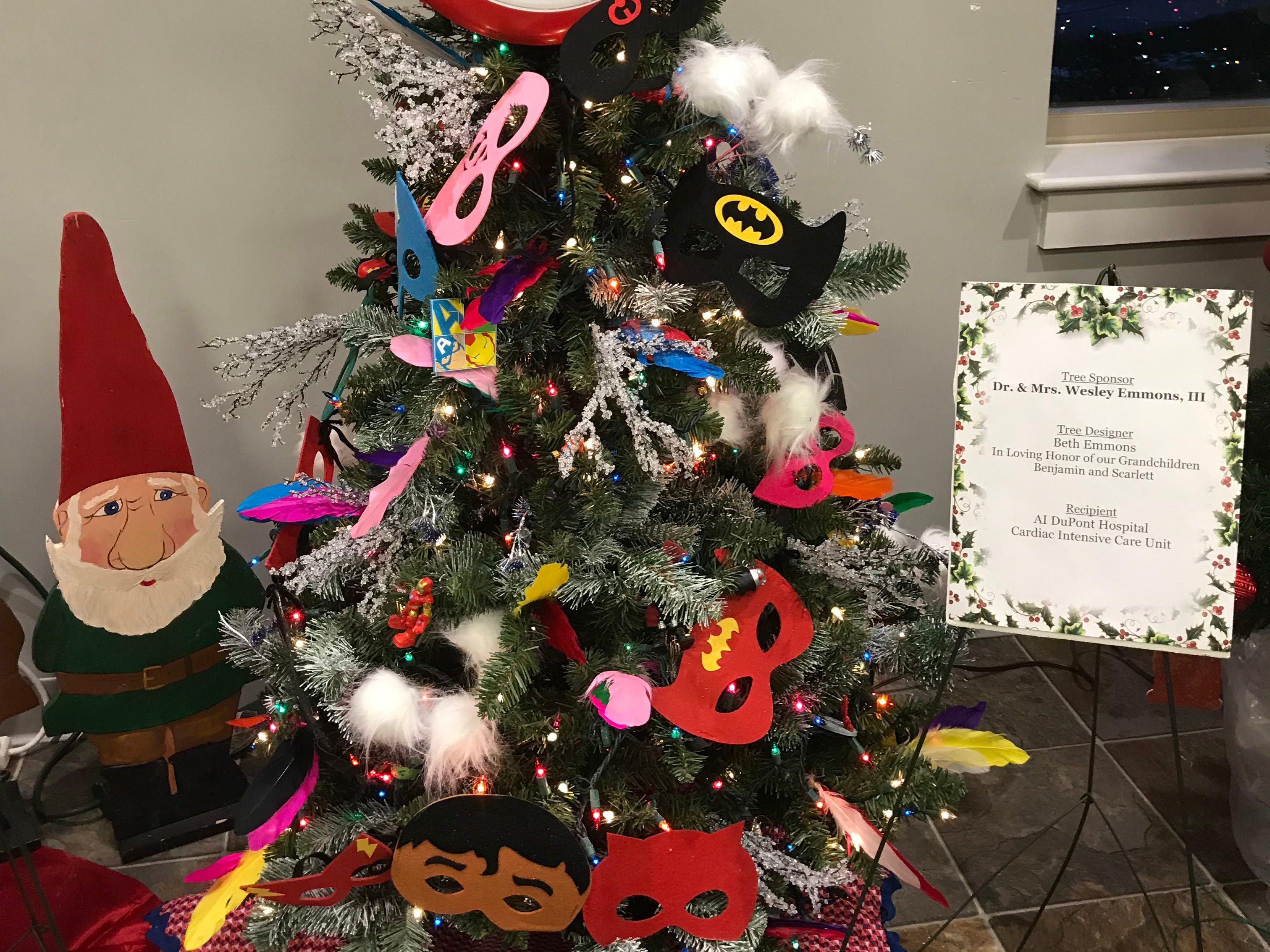 Scenes from The Festival of Trees at The Summit in Hockessin on Nov. 16, 2018