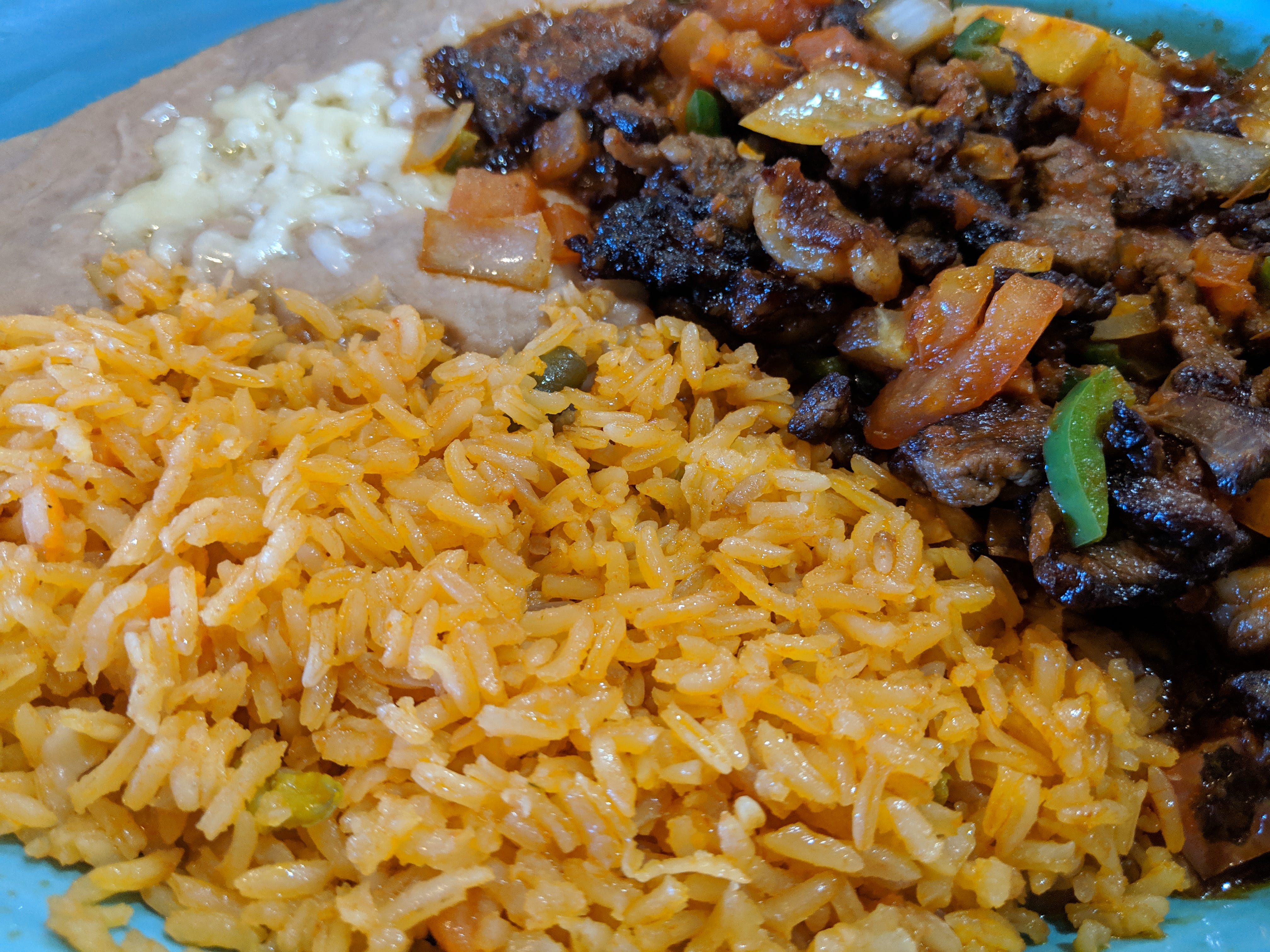 The Carne Mexicana at El Tapatio Authentic Mexican Restaurant.