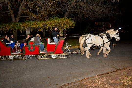 PTL opens its 2018 Christmas Country Club tours from 6:30 to 10 p.m. today, with carriages leaving from and returning to the Forum (2120 Speedway) parking lot. They run through Christmas Eve.