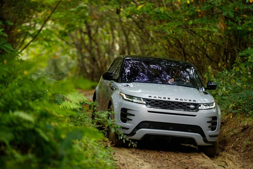 2020 Range Rover Evoque Land Rover Reveals Redesigned Luxury Suv