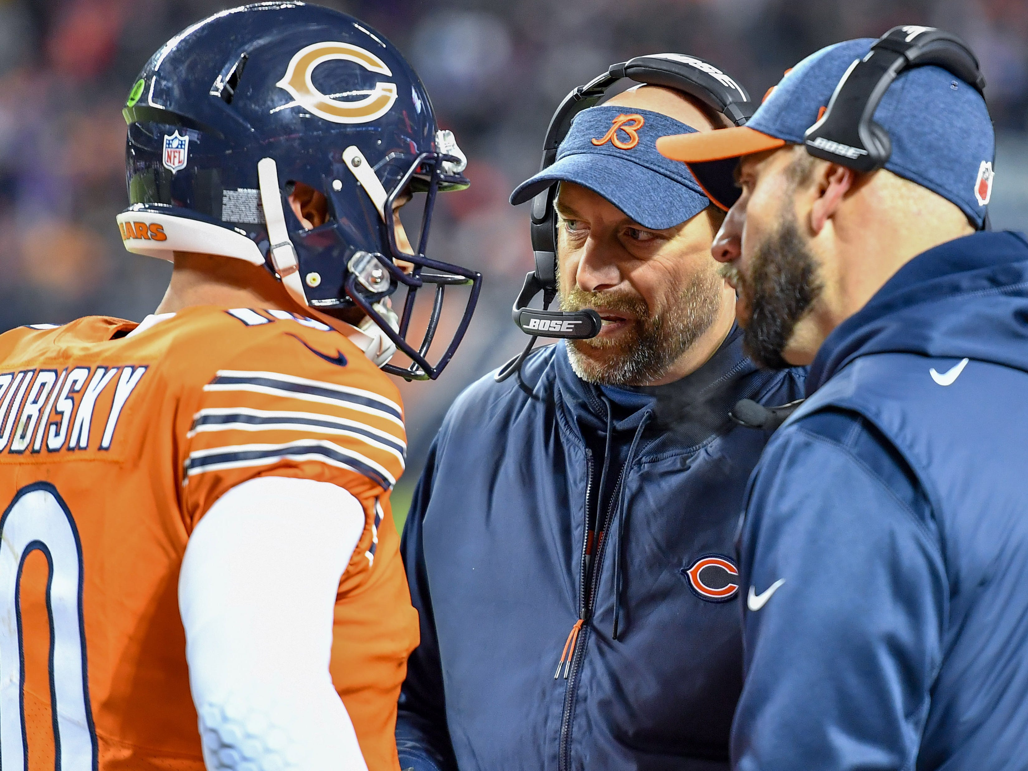 7. Bears (8): Only George Halas himself had better 10-game start on Chicago's sideline than Matt Nagy's 7-3 mark. Probably safe to open a steakhouse, dude.