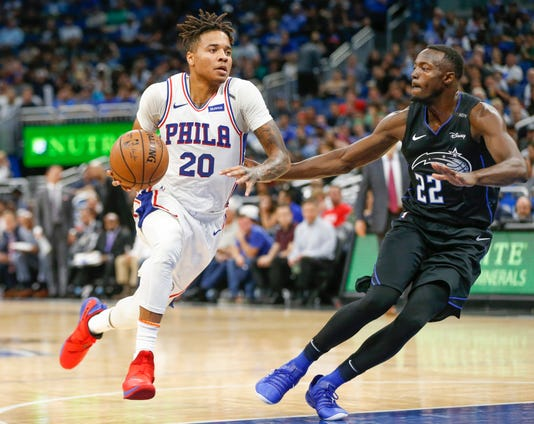 Nba Philadelphia 76ers At Orlando Magic
