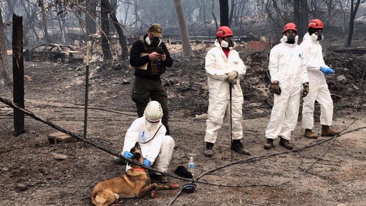 Epa Usa Northern California Wildfire Dis Fire Usa Ca