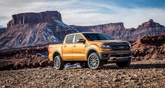 The 2019 Ford Ranger.