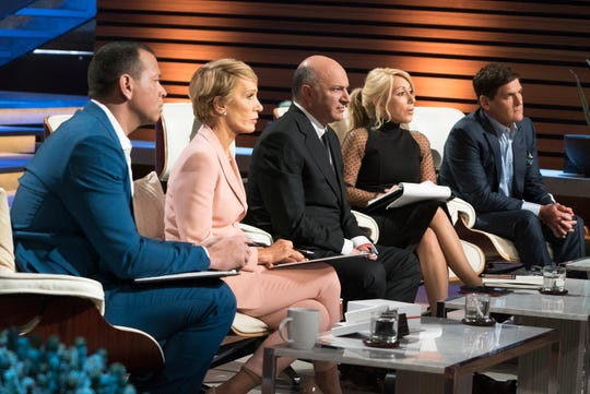 Guest shark Alex Rodriguez is joined by Barbara Corcoran, Kevin O'Leary, Lori Greiner and Mark Cuban in ABC's 'Shark Tank' episode.