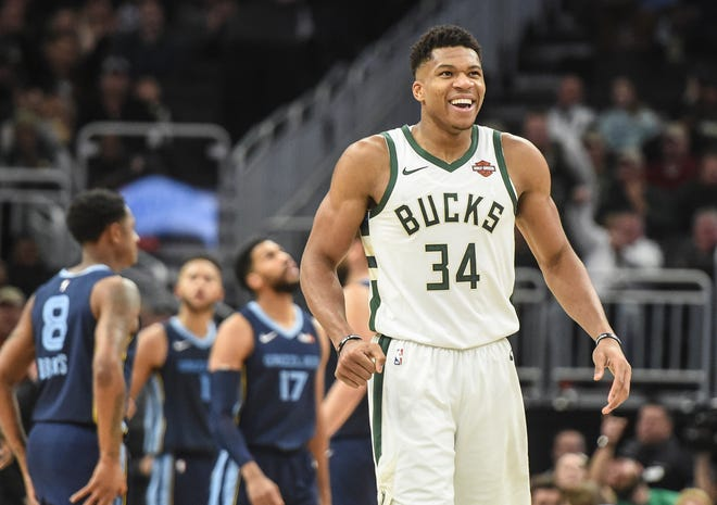 Giannis Antetokounmpo and the Bucks are off to a quiet 12-4 start.