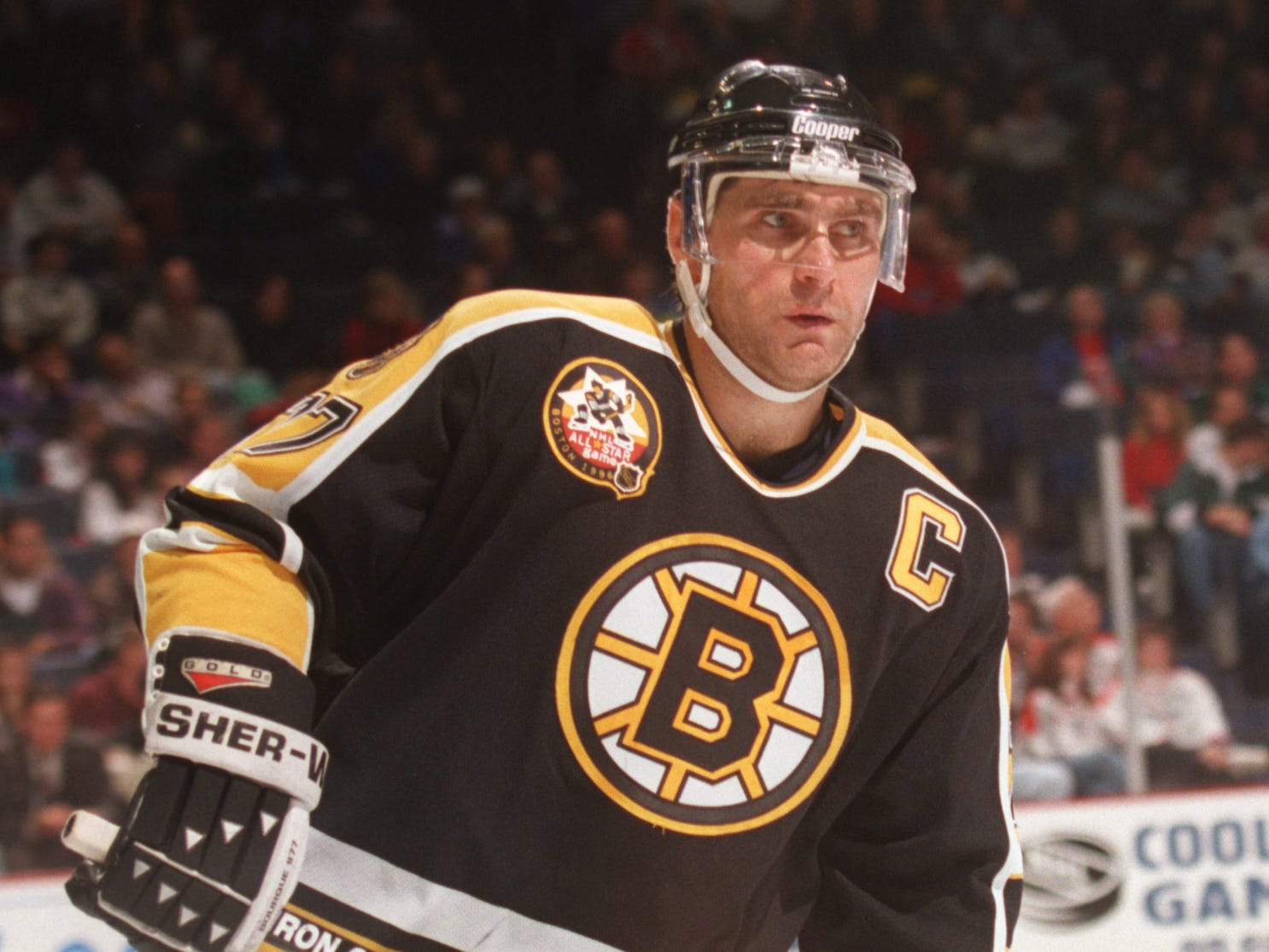 77. Ray Bourque (1987-2001). Also: Paul Coffey, Pierre Turgeon