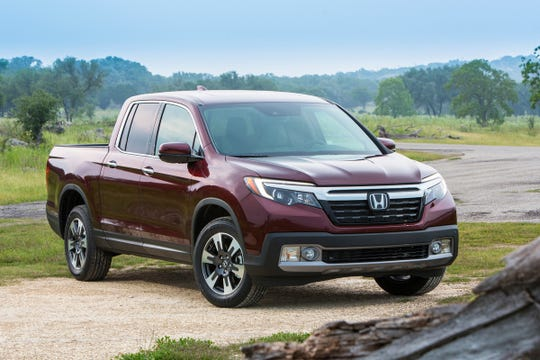 The 2019 Honda Ridgeline.