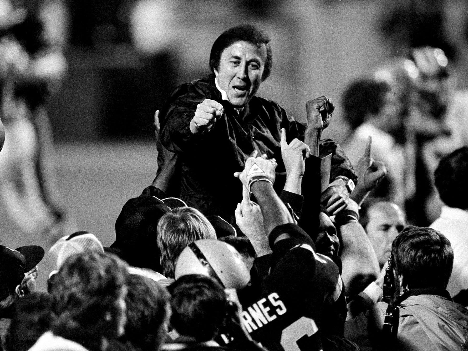 Tom Flores, Coach – 1979-1987 Oakland/Los Angeles Raiders, 1992-94 Seattle Seahawks