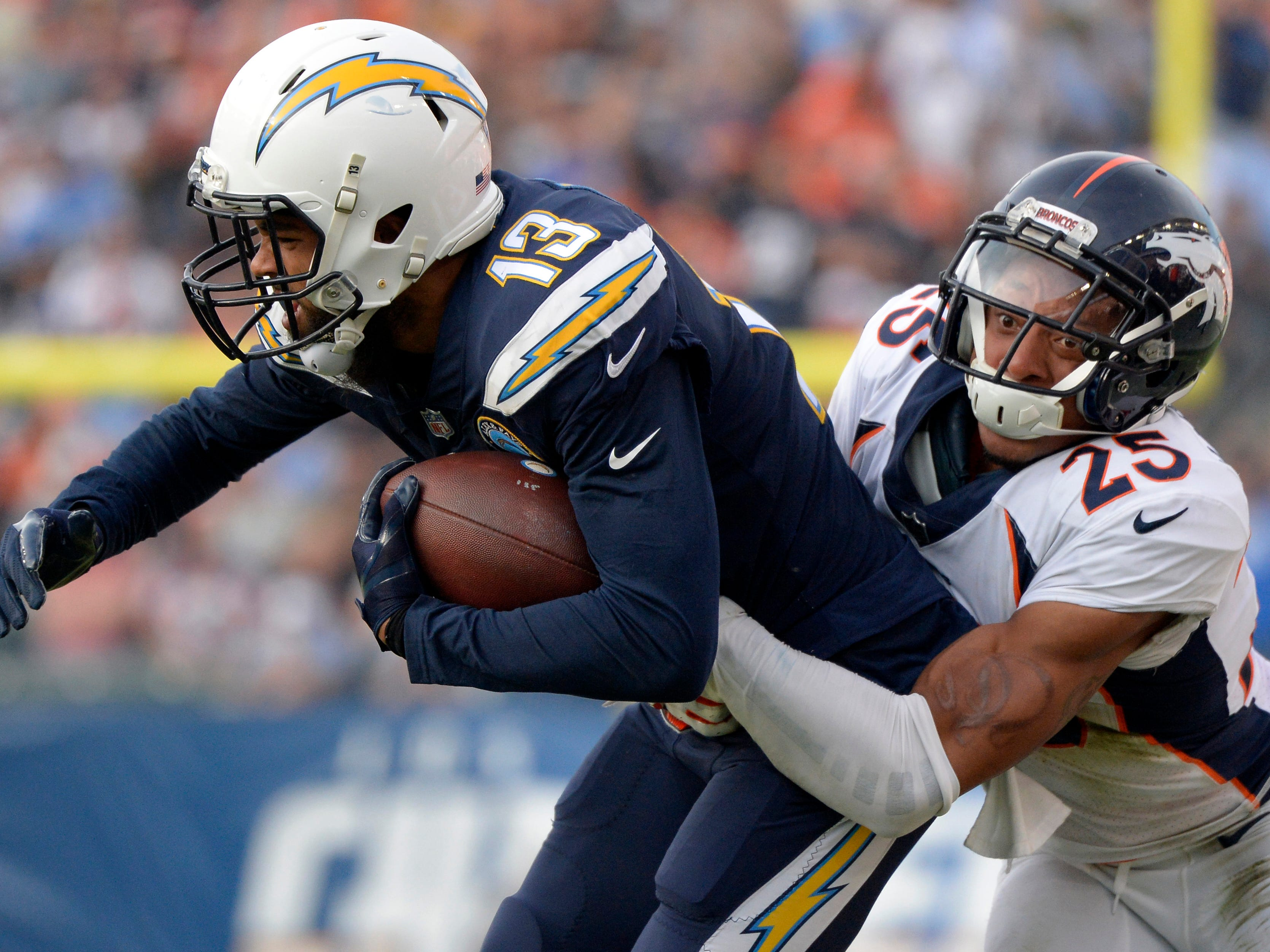 """6. Chargers (5): If Keenan Allen has determined the Broncos """"suck,"""" can't wait to get his assessment of the Bolts' upcoming opponent – the 2-8 Cardinals."""