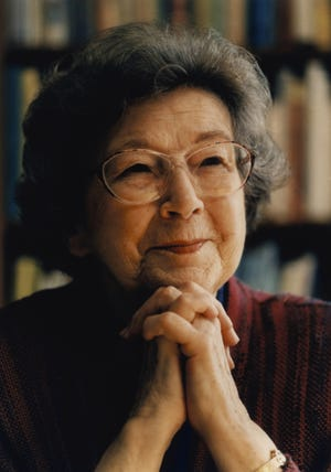 Author Beverly Cleary.