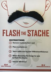 Washington State's Gardner Minshew Heisman promotion.