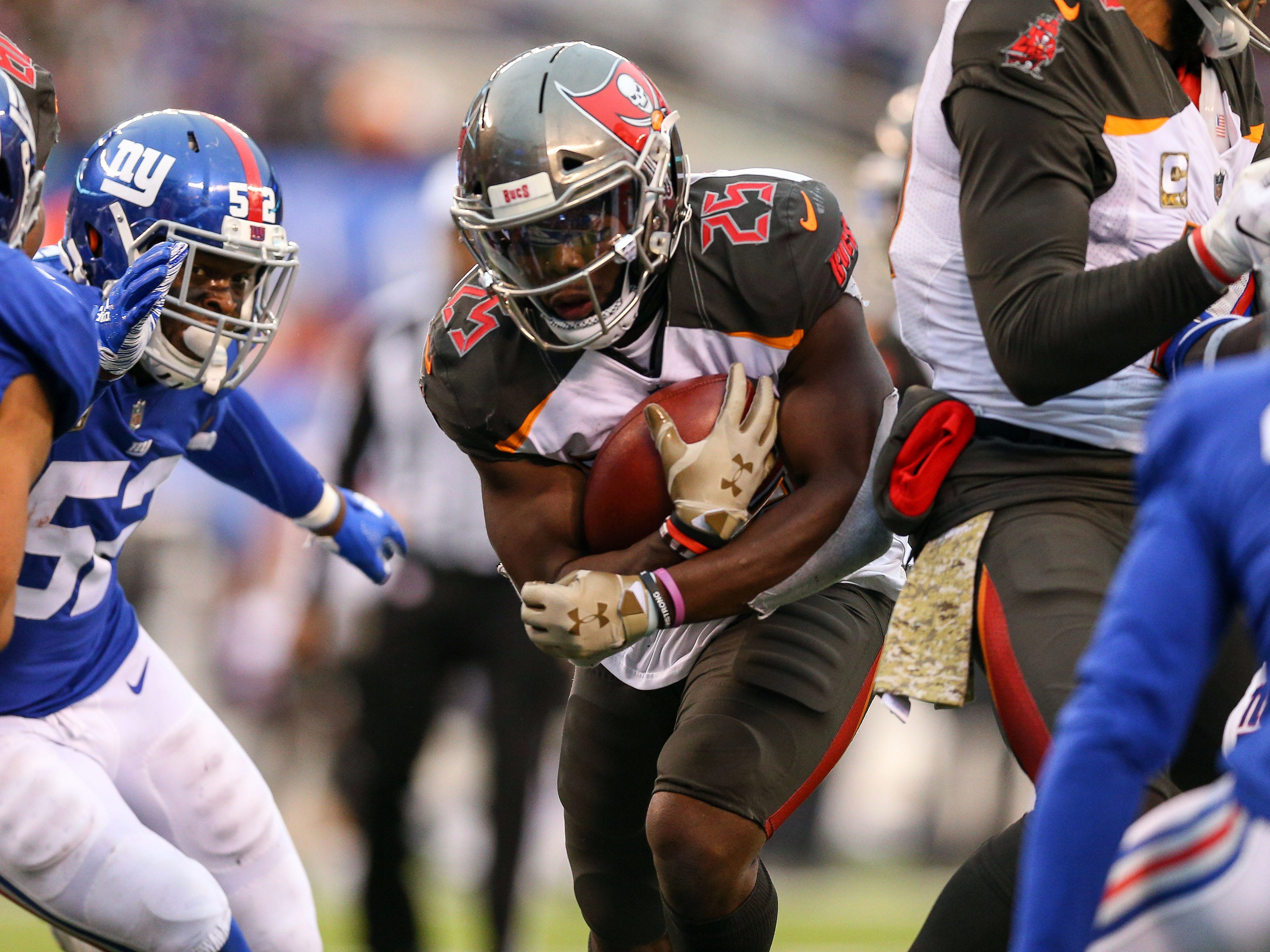 28. Buccaneers (23): If football games were won between 20-yard lines, these Bucs might be considered revolutionary. (Uh, guys, they're not won between the 20s.)