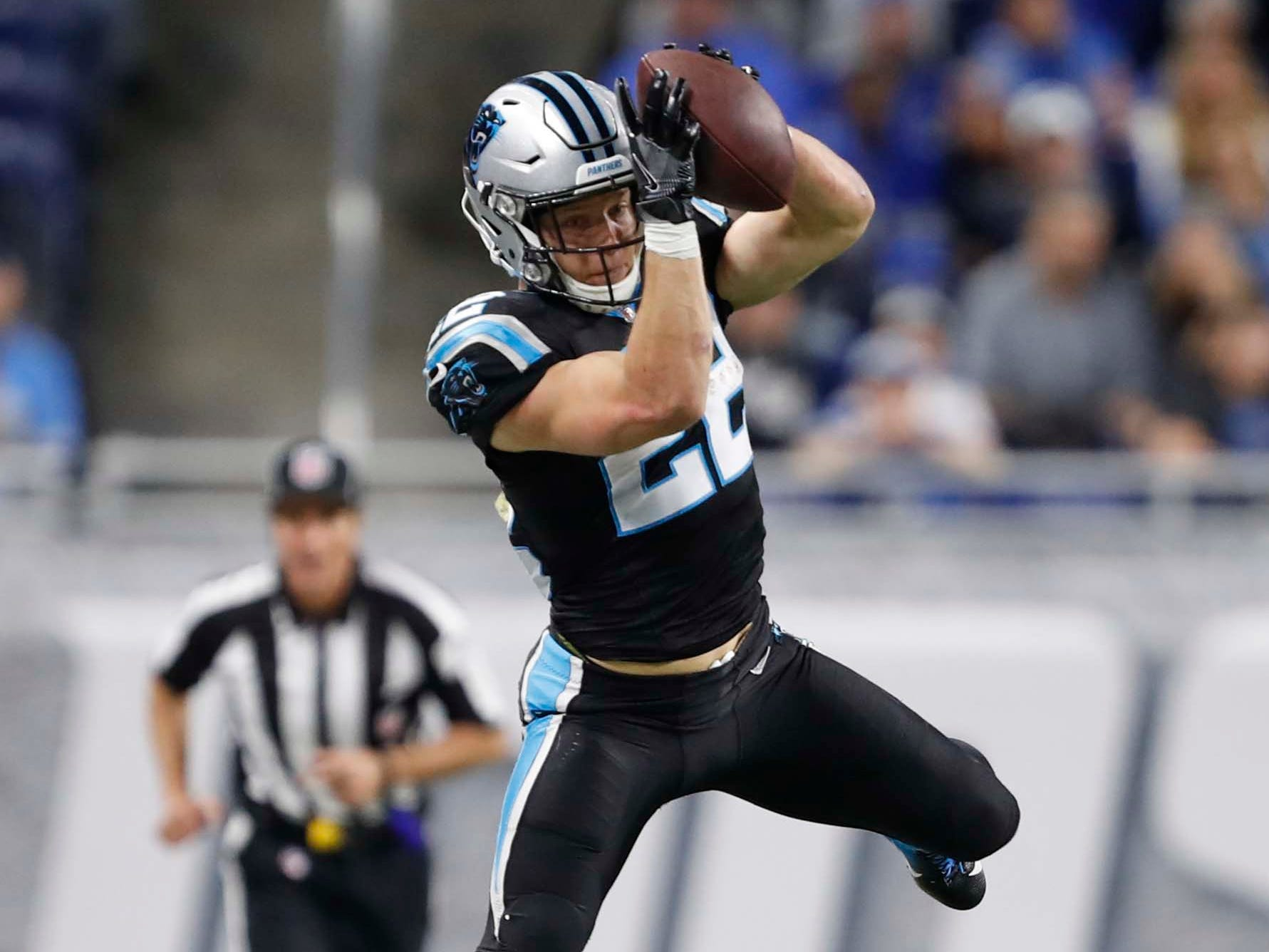 10. Panthers (10): Christian McCaffrey playing insane 97 percent of offense's snaps. By comparison, Todd Gurley has never exceeded 85 percent in a season.