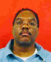 This undated photo provided by Ohio Department of Corrections shows Lance Mason. Mason, a former Cleveland-area judge who spent nine months in prison for beating his wife at the time is now a suspect in her stabbing death over the weekend and is likely to be charged, authorities said Monday, Nov. 19, 2018. (Ohio Department of Corrections via AP) ORG XMIT: CD201