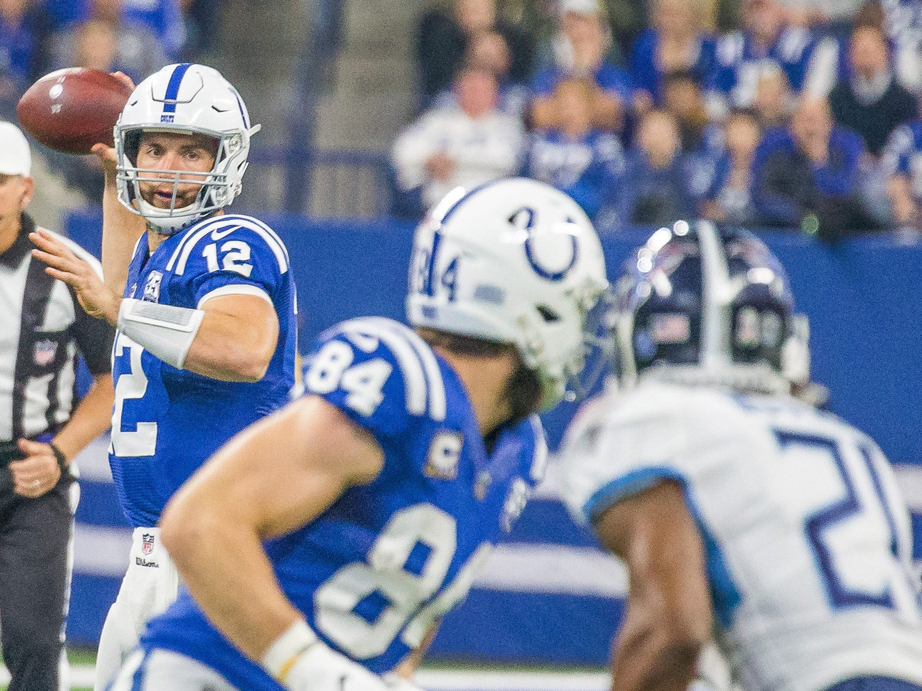 11. Colts (21): Andrew Luck won't win MVP, but hopefully he'll start to get deserved mentions as a guy who belongs on a very short list of candidates.