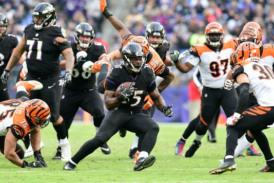 Usp Nfl Cincinnati Bengals At Baltimore Ravens S Fbn Bal Cin Usa Md