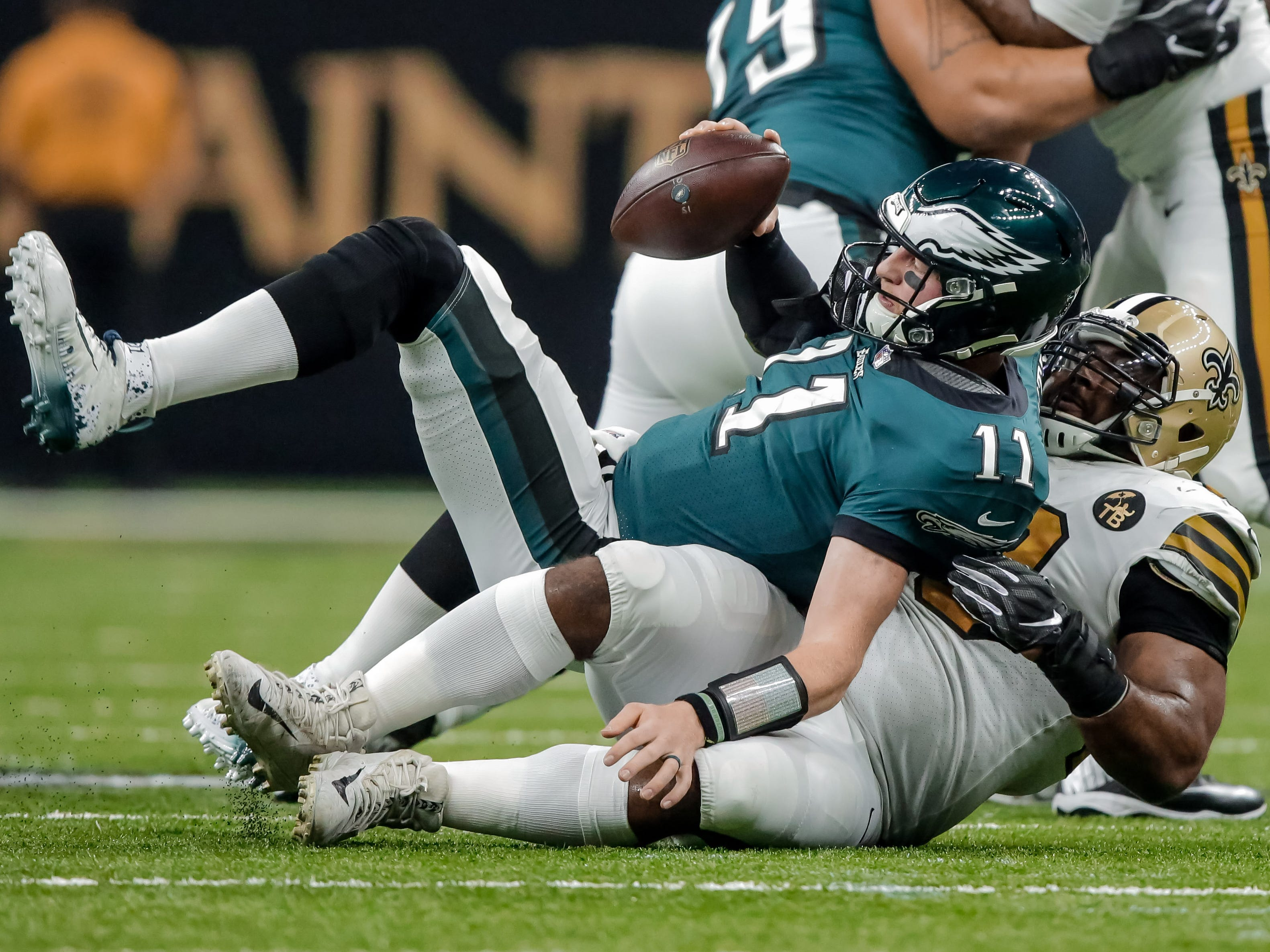 22. Eagles (17): All seems lost, especially given 41-point blowout worst ever suffered by reigning champ. BUT next three vs. NFC East, so opportunity knocks.