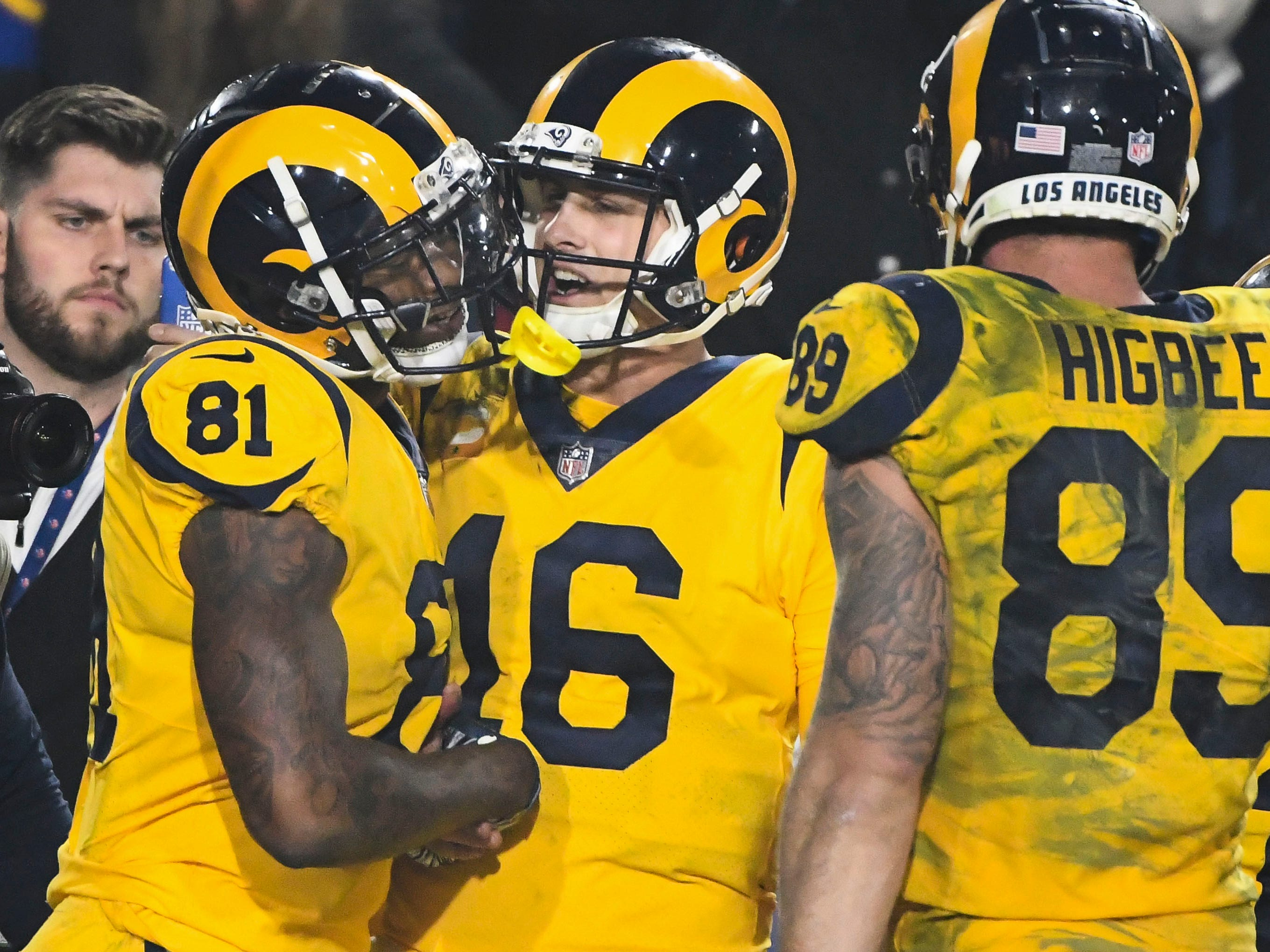 2. Rams (3): Of course, sometimes a 40-burger doesn't quite get the job done. Good thing L.A. can crank out half a hundred on a night when Todd Gurley is shut out.