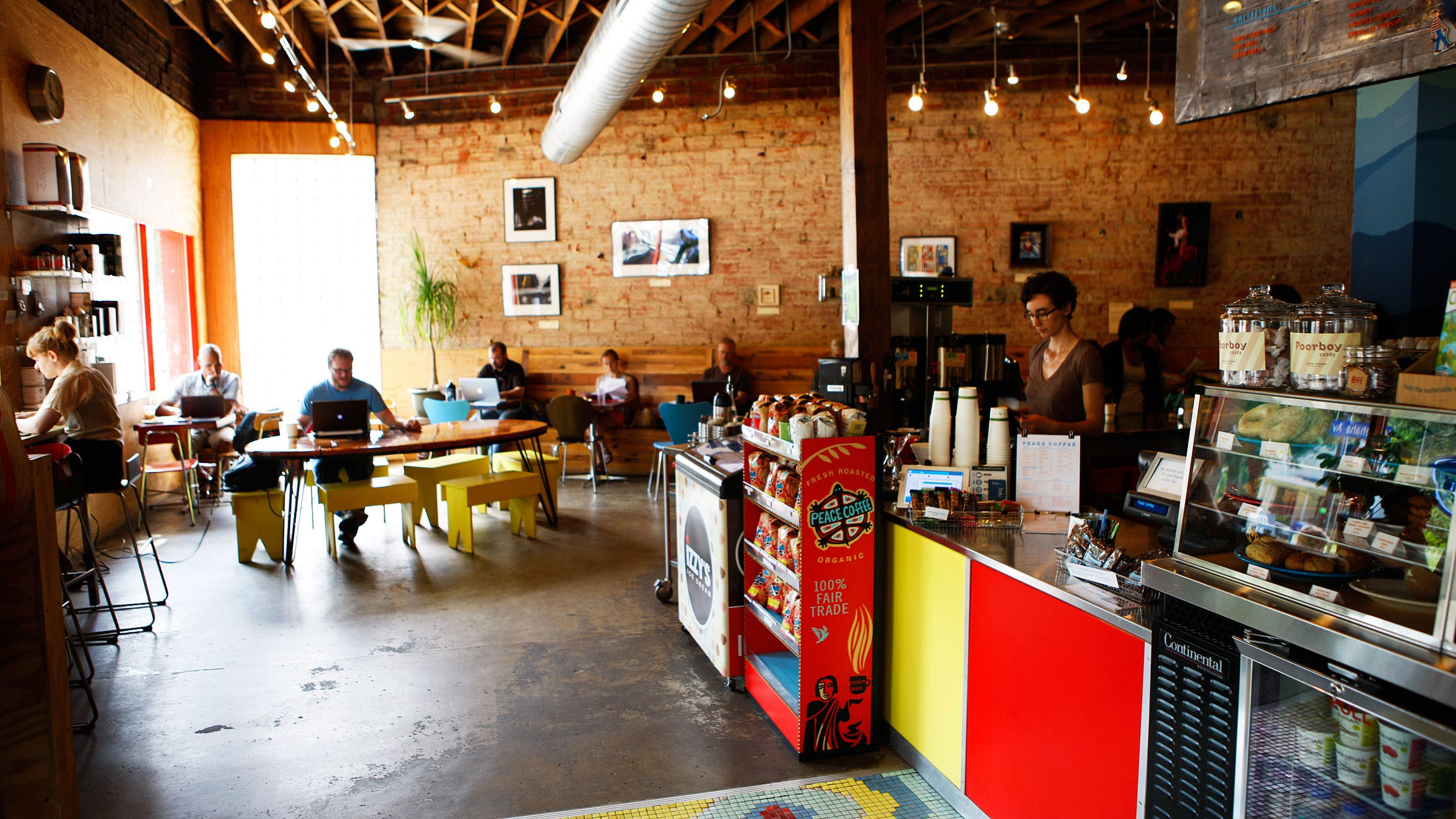 Peace Coffee, a Minneapolis home-away-from-home, serves up espresso concoctions to folks across the Twin Cities.