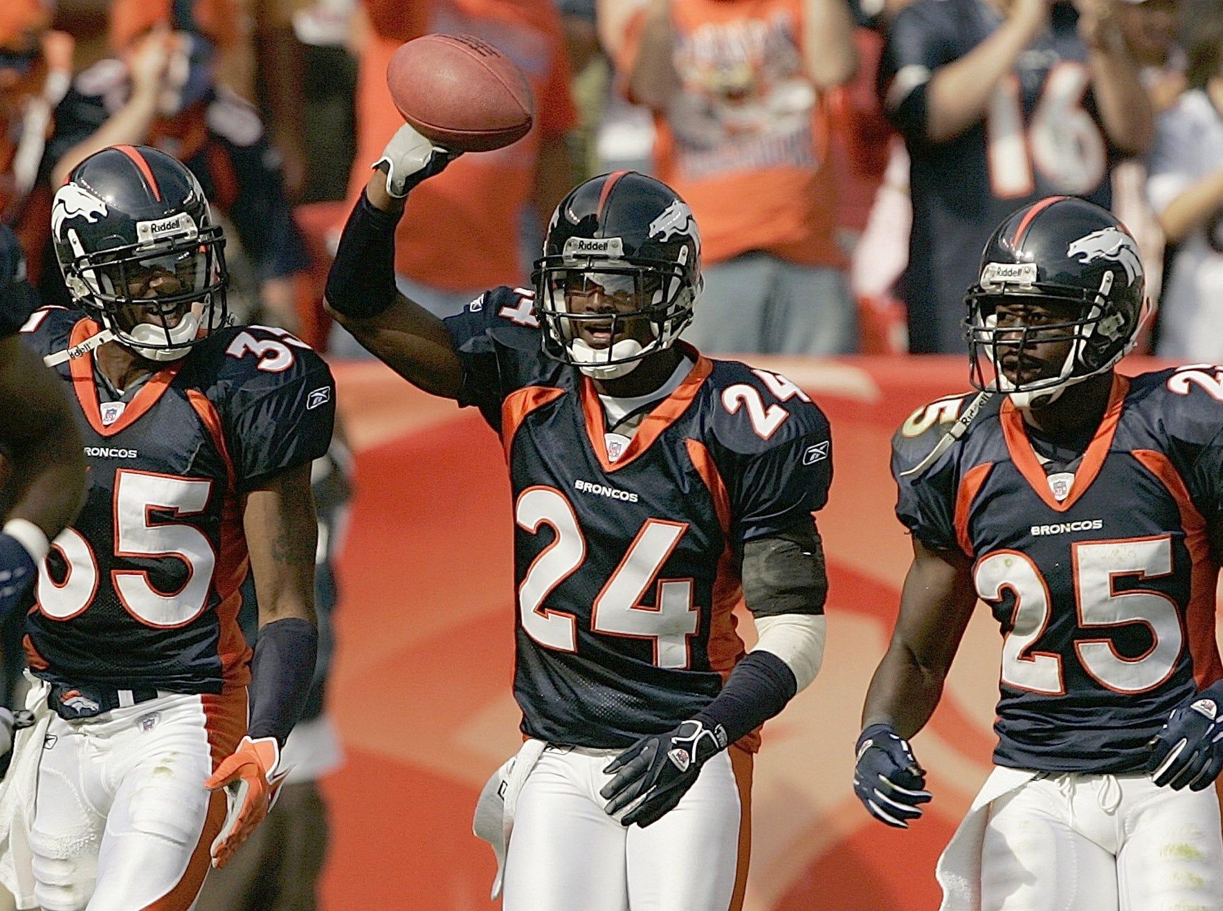 Champ Bailey, CB – 1999-2003 Washington Redskins, 2004-2013 Denver Broncos