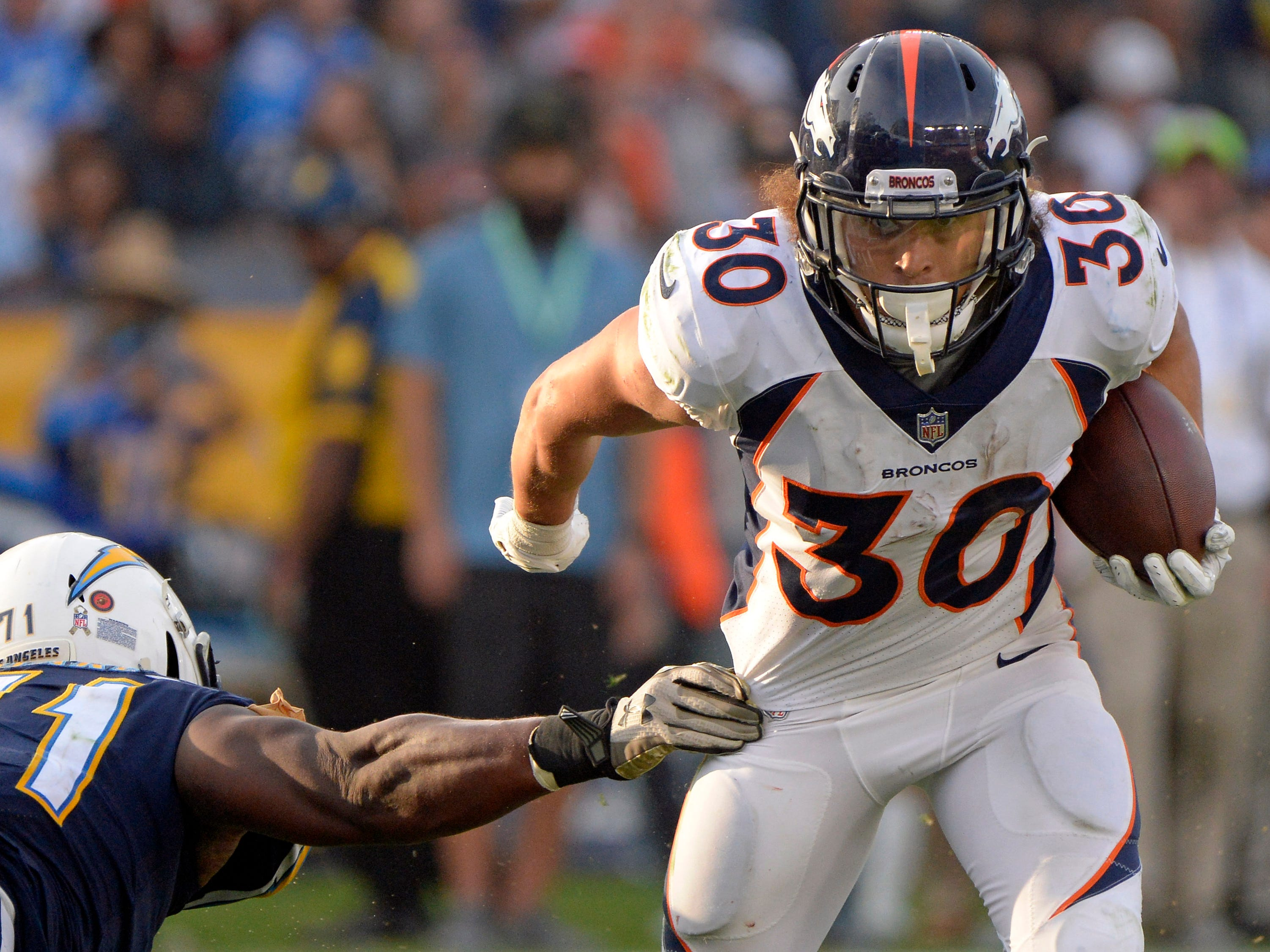 21. Broncos (27): They're under radar like a Special Operations Black Hawk. They're also one game out of playoffs, giving good teams all they can handle.