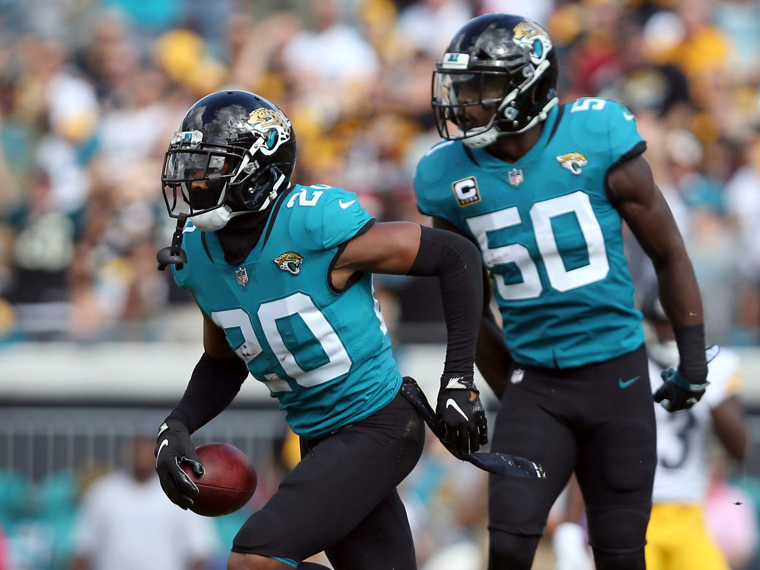 25. Jaguars (24): Jalen Ramsey is still balling and still talking even as front office tries to douse rumors that he'll be on trade block in a few months.