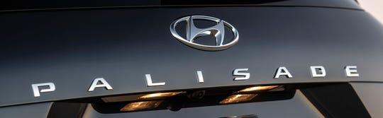 Hyundai released this teaser image of the Hyundai Palisade 3-row SUV.
