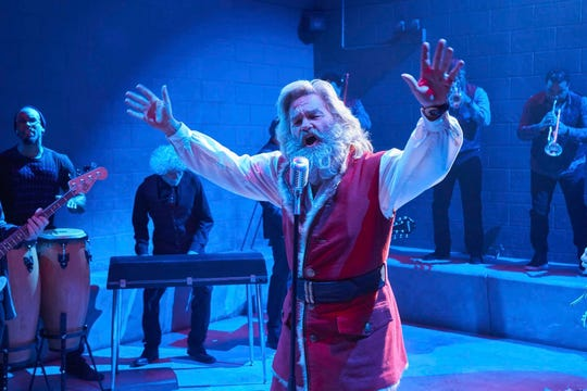 "Santa Claus (Kurt Russell) jammed with a prison soul band in 2018's ""The Christmas Chronicles"" but gets a new duet partner in the sequel."