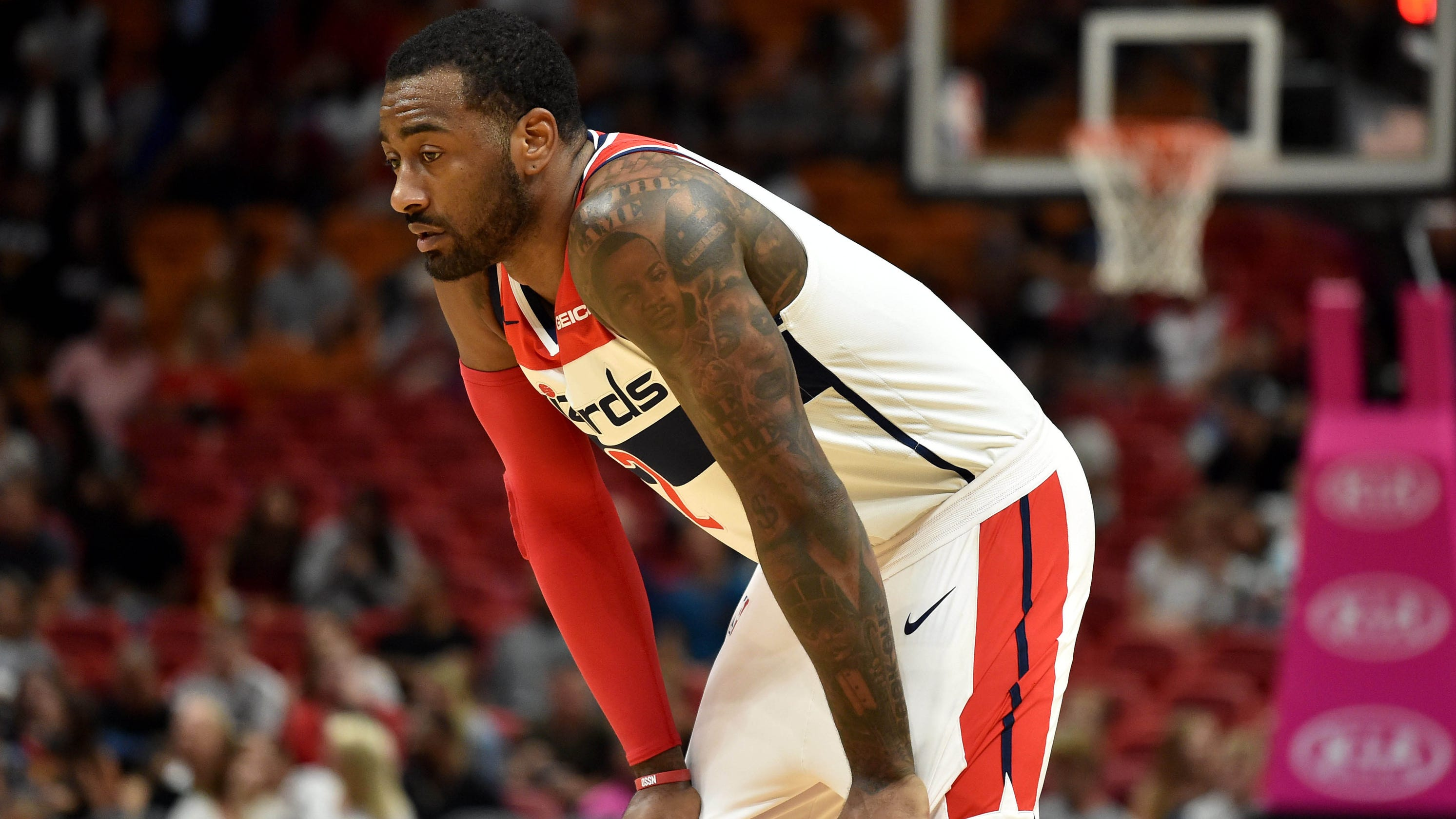 John Wall Wizards fine All-Star guard for cursing at coach