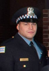 Chicago Police officer Samuel Jimenez was killed in the shooting attack Monday.