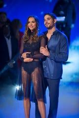 Alexis Ren and professional Alan Bersten brought love to the dance floor. Just ask them.