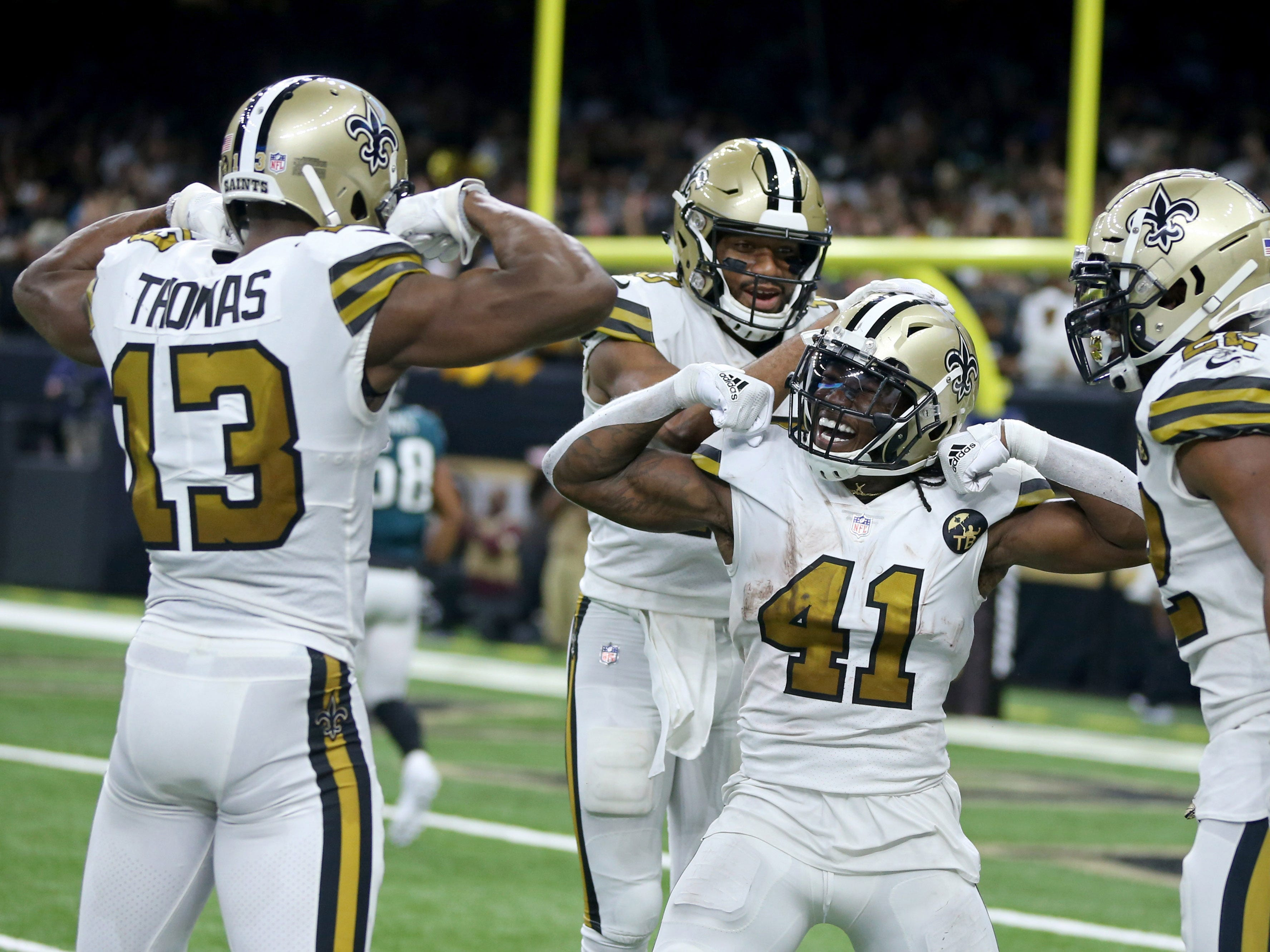 1. Saints (1): Post a seventh 40-burger, and they'll set record for most in any season. Scoring standard of 2013 Broncos (606 points) also within reach.
