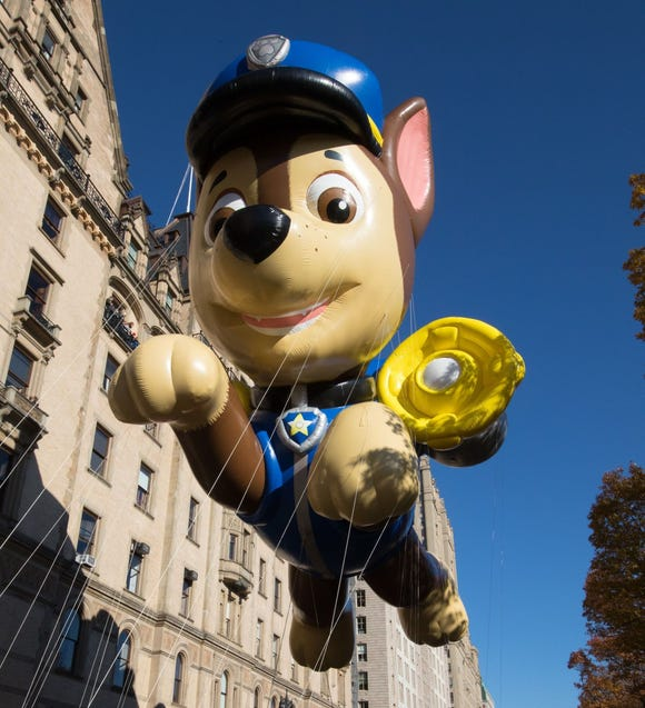 Paw Patrol Chase is pawing its way into the 2018 Macy's Thanksgiving Day Parade.