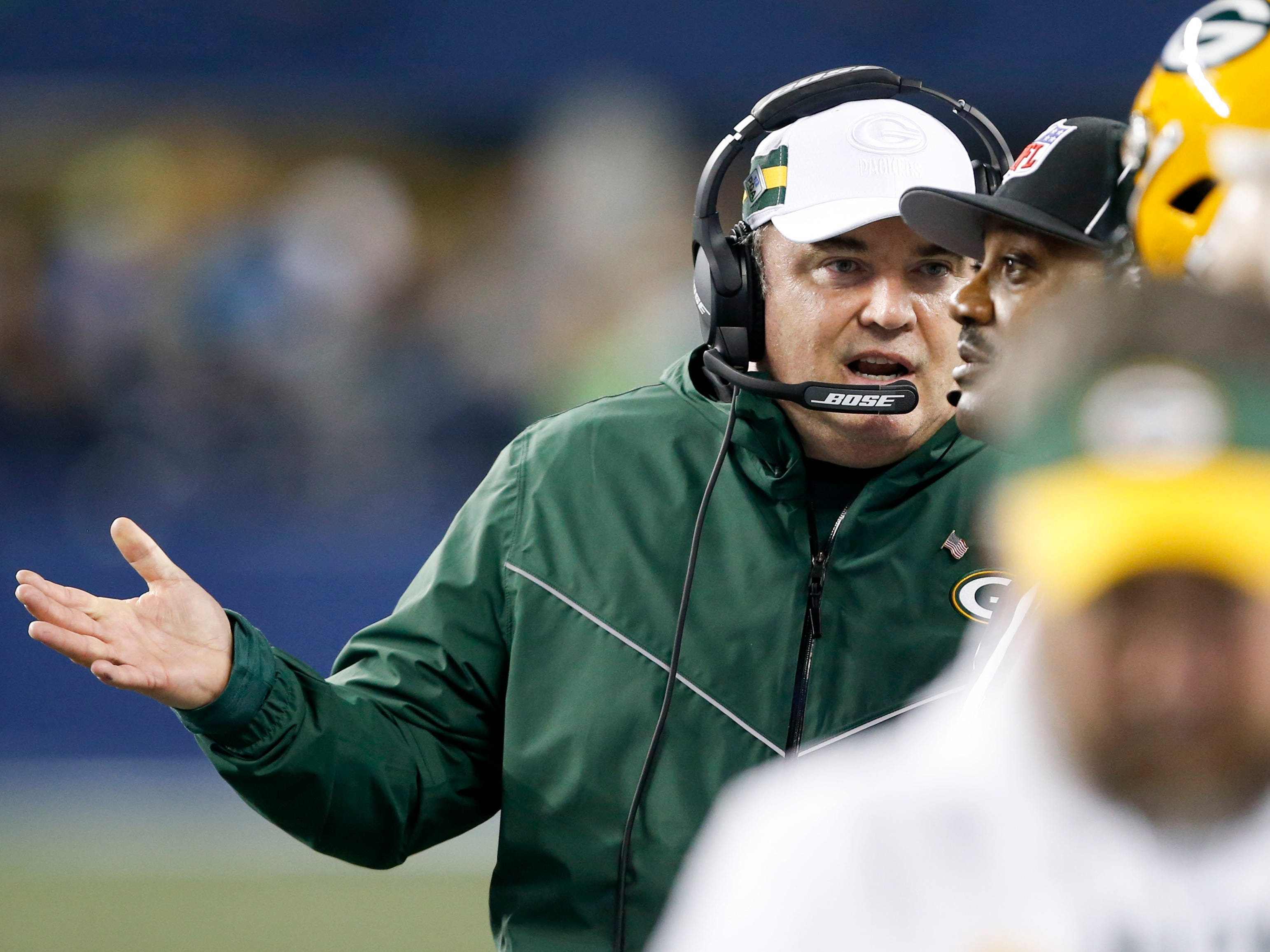 20. Packers (13): Mike McCarthy missed playoffs twice in his first 11 seasons. He's now in jeopardy of staying home two years in a row ... which might mean a new home.